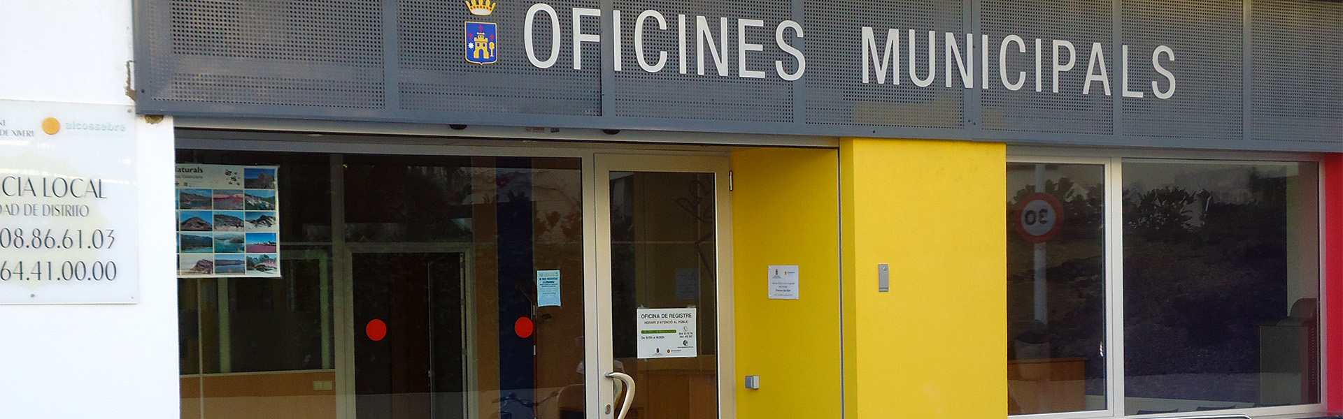 Teléfonos de Interés, oficina de turismo Alcossebre - Alcalà de Xivert