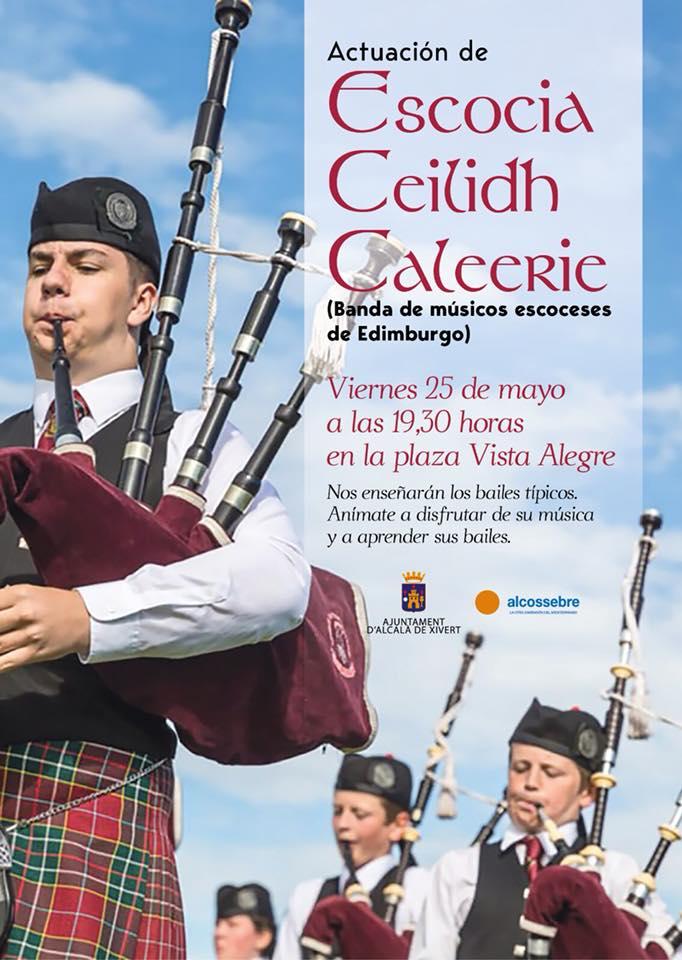 Actuación Banda de Música Escocesa