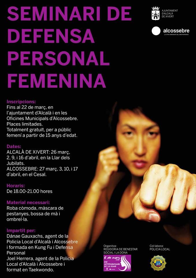 Curs Defensa Personal per a Dones