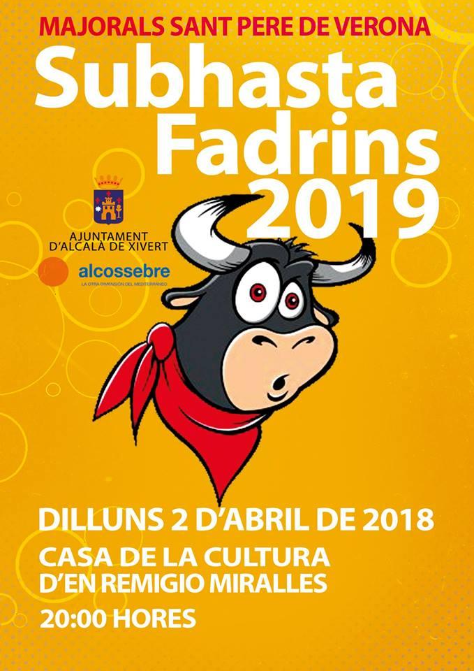 Subhasta Fadrins 2019
