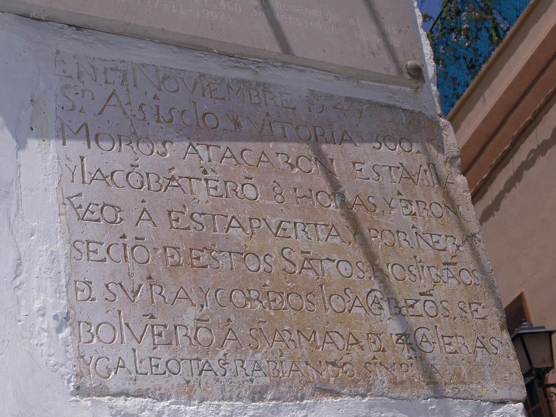 Placa de San Juan de Alcalà de Xivert