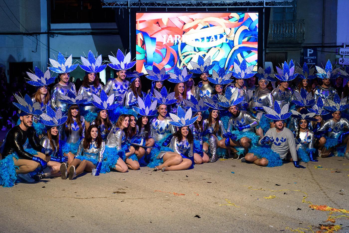 Turismo-Alcossebre_Carnaval_Alcala_de_Xivert_Comparsa_Azul