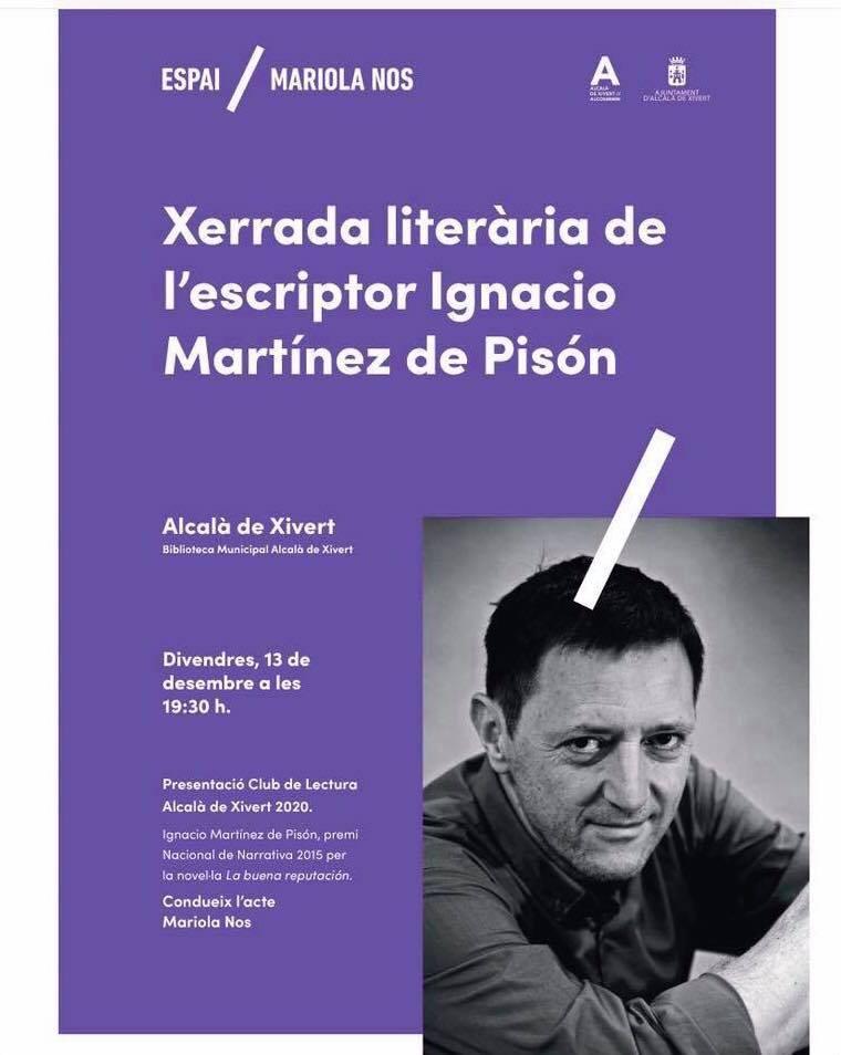 Charla Literaria Ignacio Martinez de Pisón
