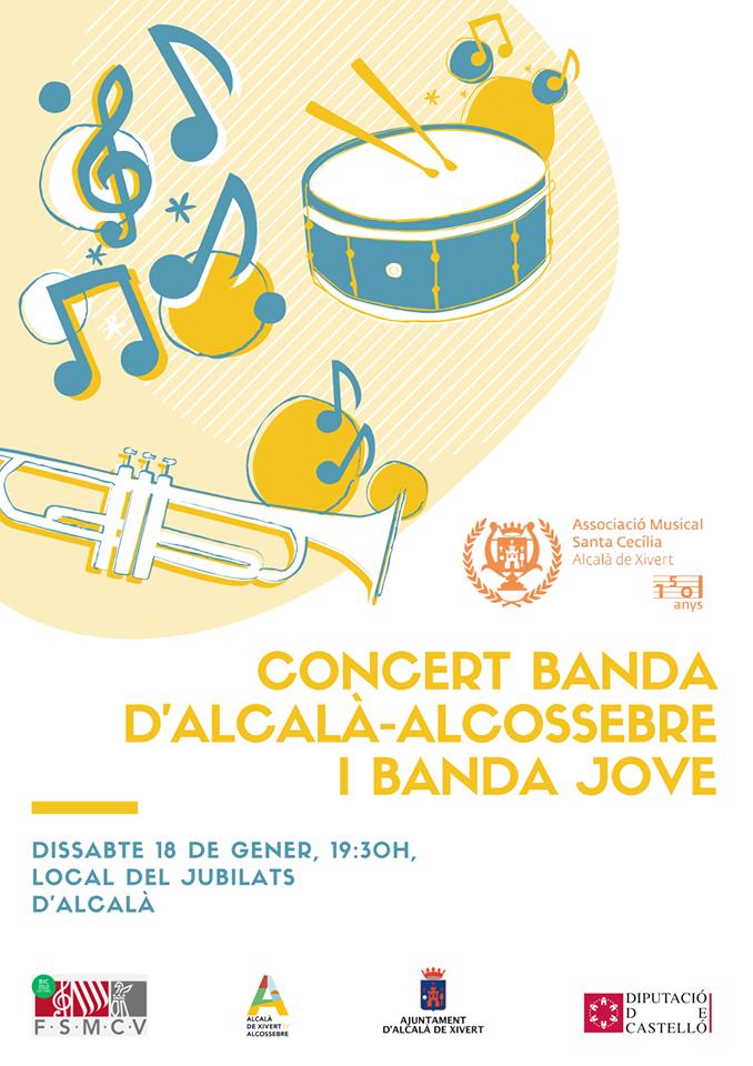 Concert Banda i Banda Jove