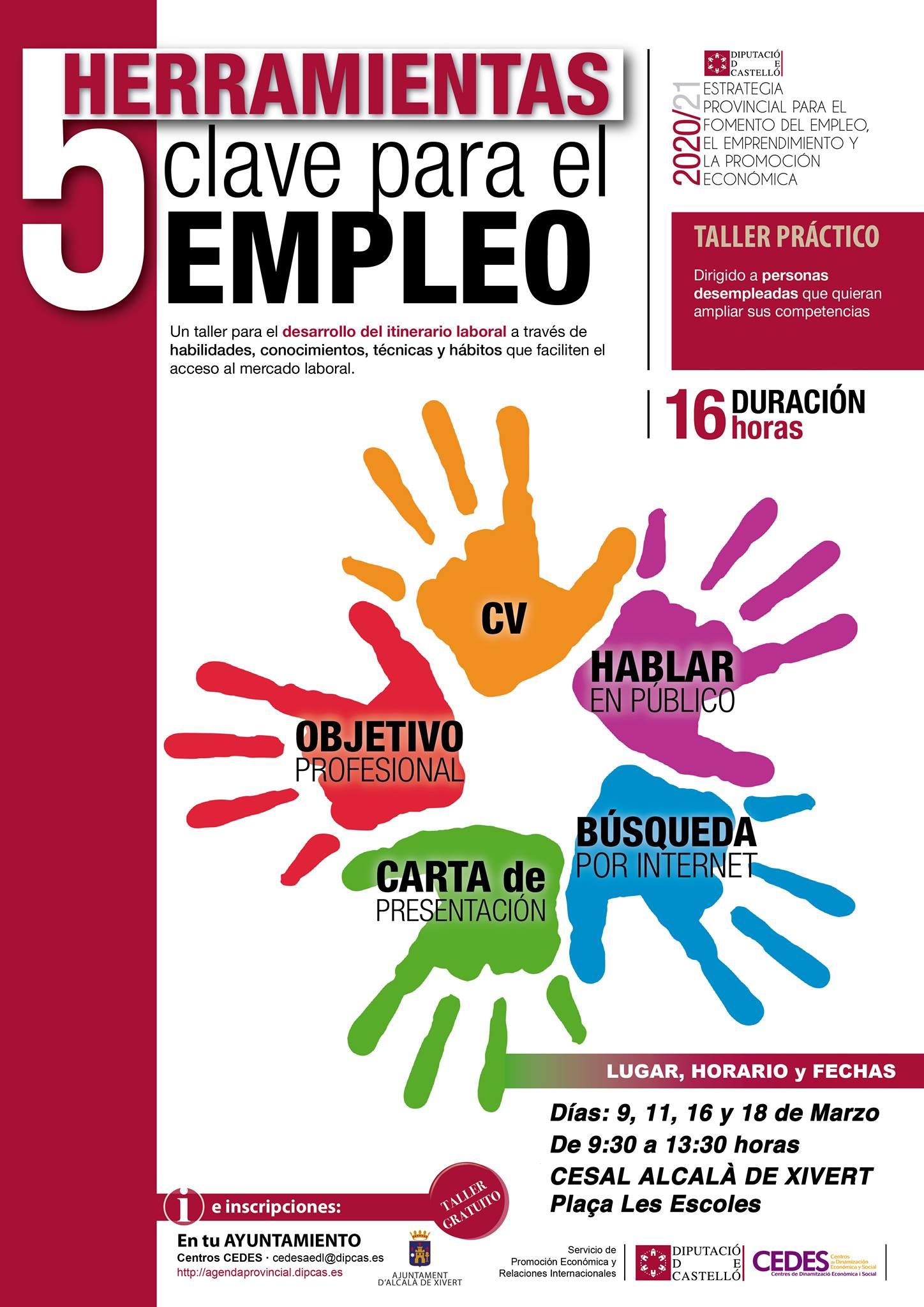 Curso 5 Herramientas Clave para el Empleo
