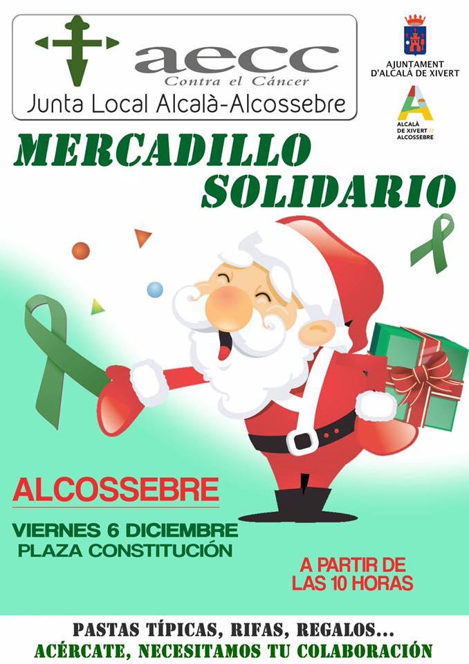 Mercadillo Solidario AECC Alcossebre