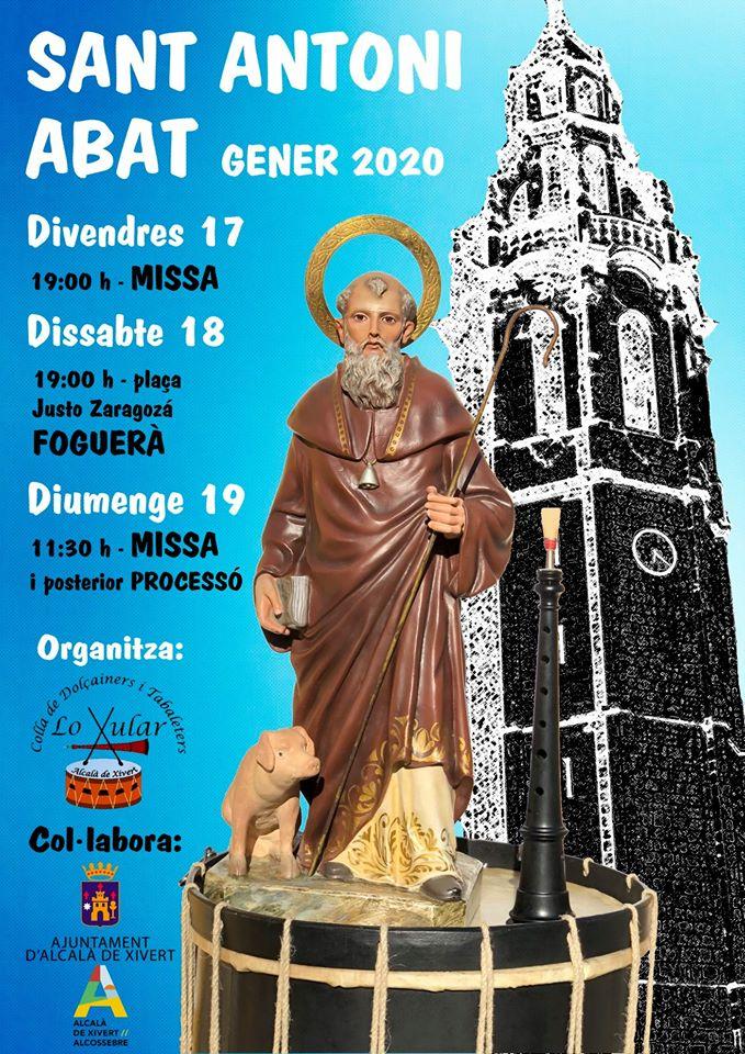 Sant Antoni 2020 Alcalà