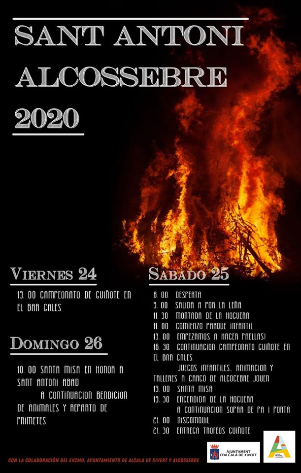 Sant Antoni 2020 Alcossebre