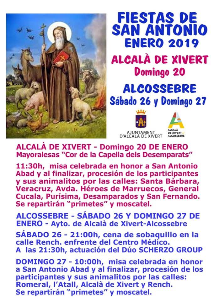 Sant Antoni Alcalà i Alcossebre 2019
