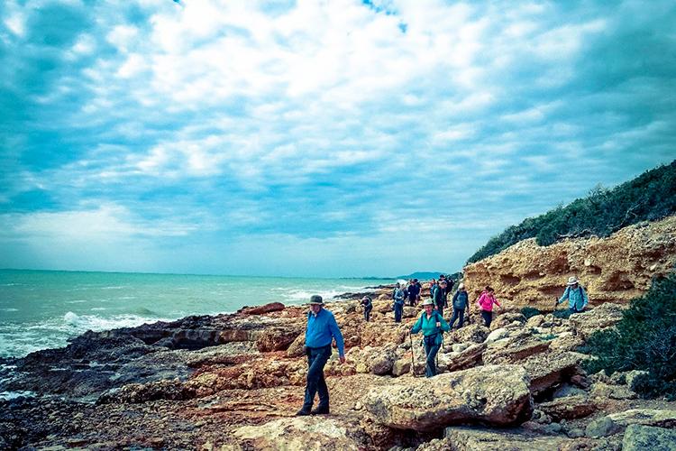 Reservas Alcossebre Experiencia Naturaleza Visita-Atalayas Sierra de Irta vista al mar