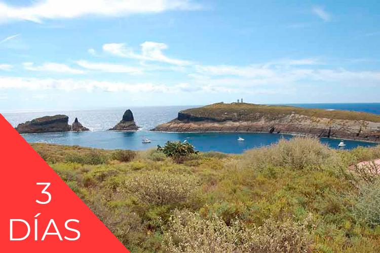 Reserva Alcossebre Paquete Experiencia islas columbretes 3 días con alojamiento
